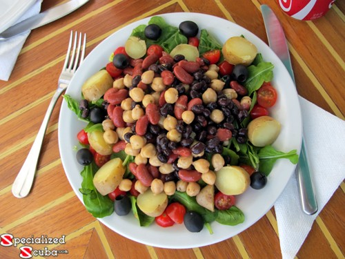 Vegetarian Bean and Potato Salad