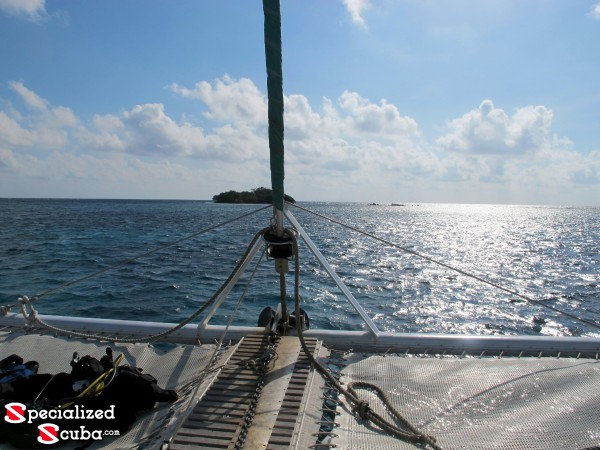 Belize, Sailboat, Traompoline, Tiny Cay