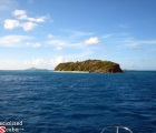 A Cay in the blue Carib