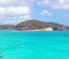 Cays in the aqua sea