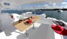 TW50 Stern covered dining deck